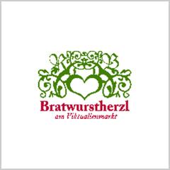 Bratwurstherzl am Viktualienmarkt